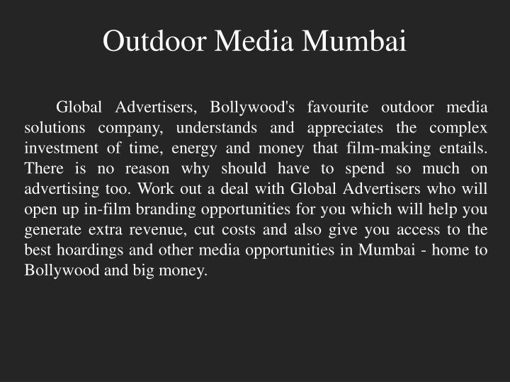 Outdoor Media Mumbai