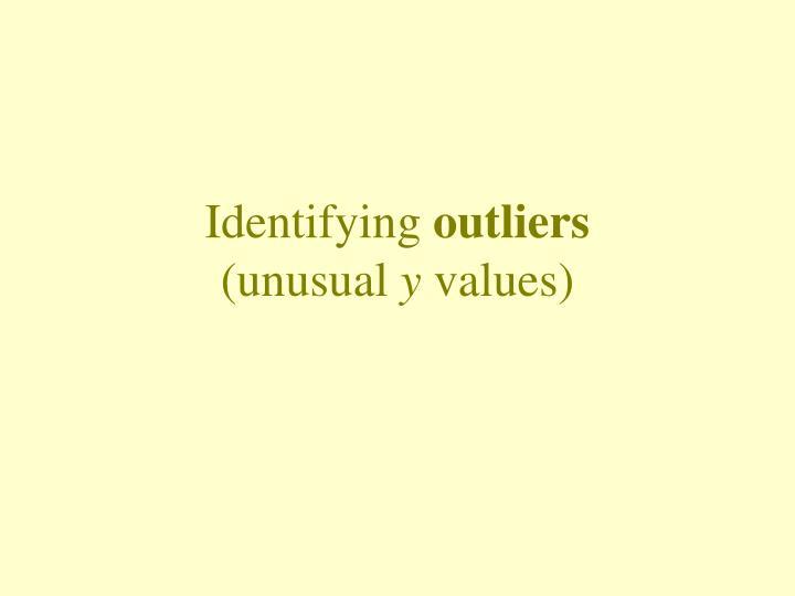 Identifying