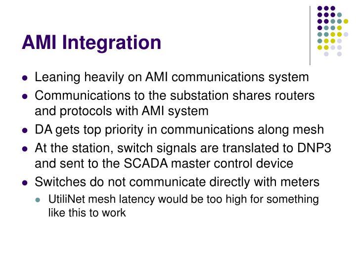 AMI Integration