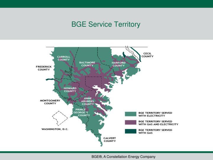 BGE Service Territory