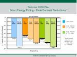 summer 2008 pilot smart energy pricing peak demand reductions