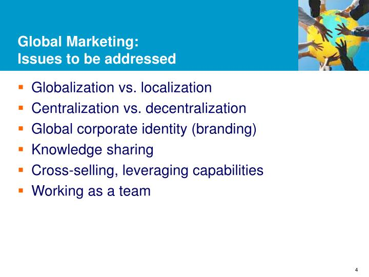 Global Marketing: