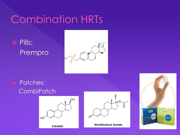 Combination HRTs