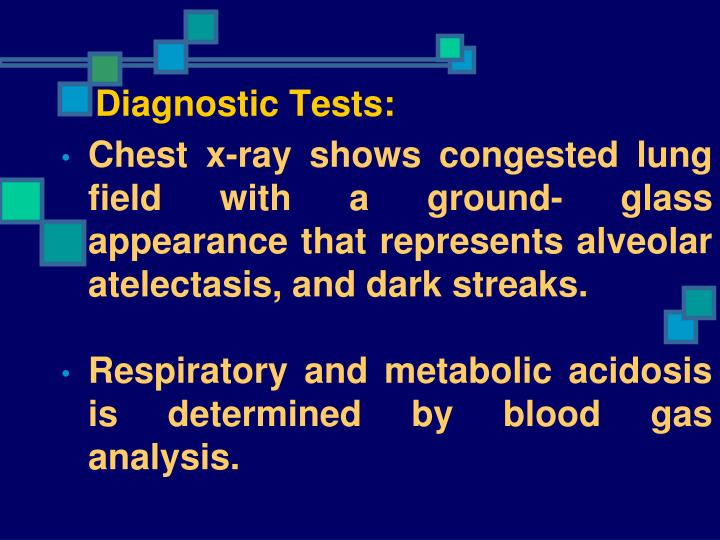 Diagnostic Tests: