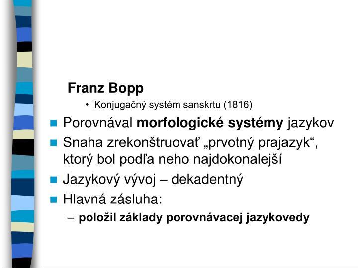 Franz Bopp