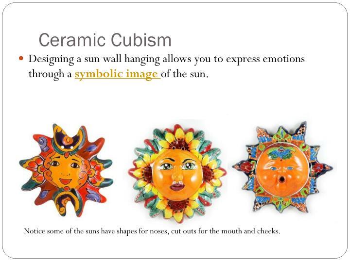 Ceramic Cubism