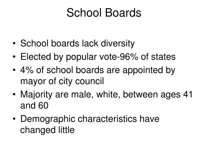 School Boards