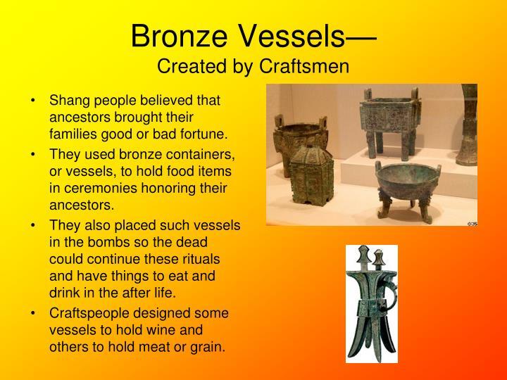 Bronze Vessels—
