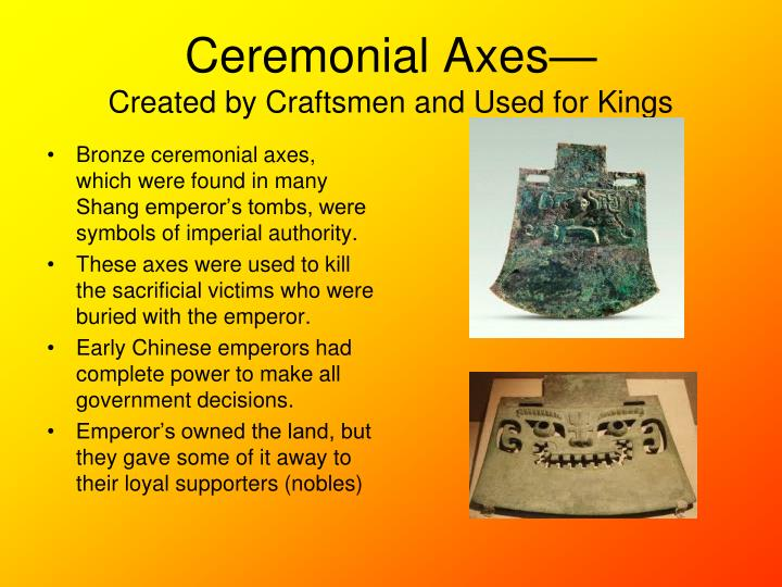 Ceremonial Axes—
