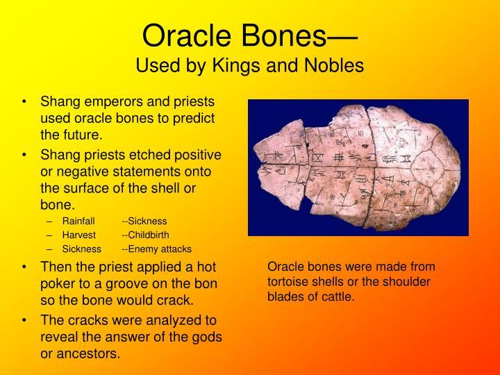 Oracle Bones—