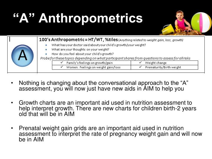 A anthropometrics