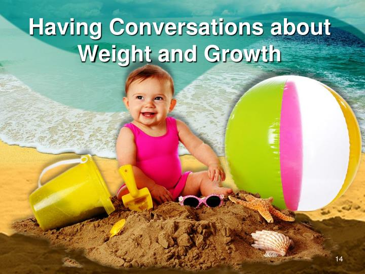 Having Conversations about Weight and Growth