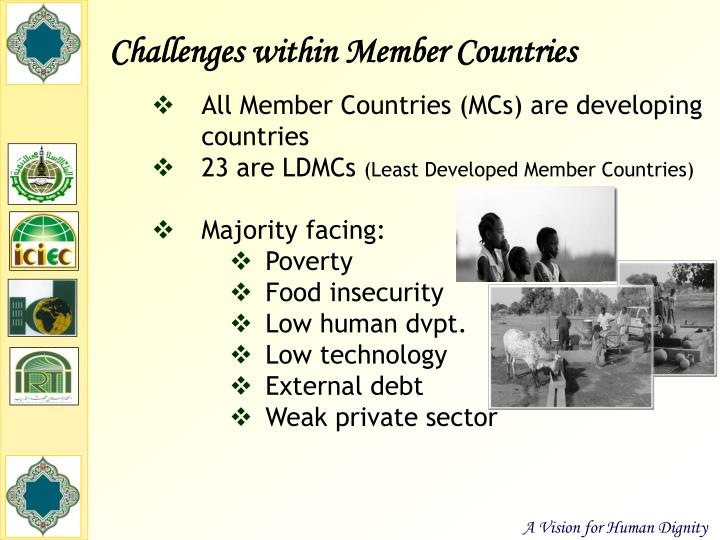 Challenges within Member Countries