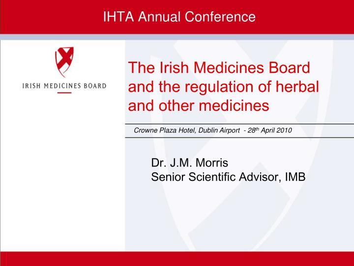 Ihta annual conference