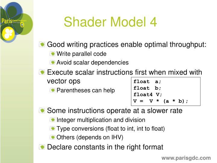Shader Model 4