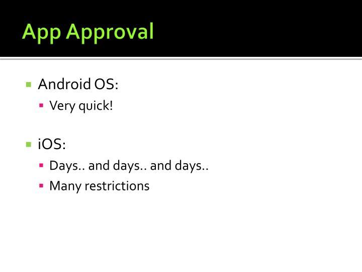 App Approval