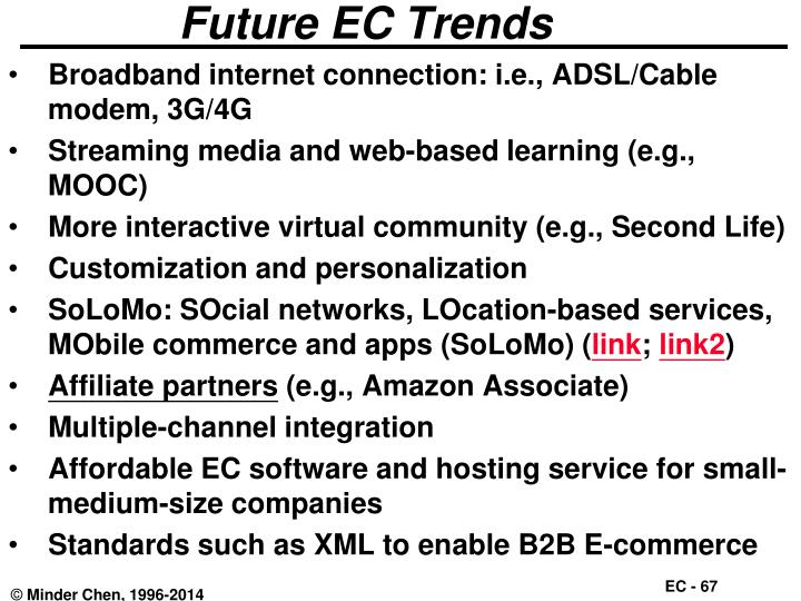 Future EC Trends