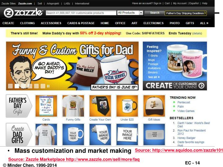 Mass customization and market making