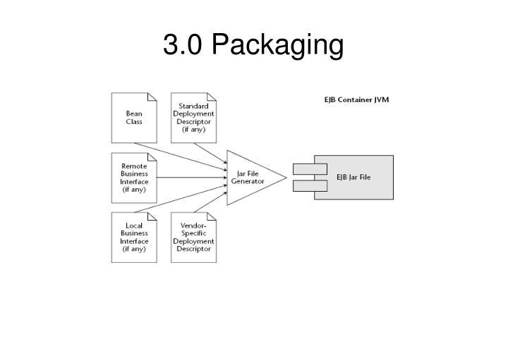 3.0 Packaging
