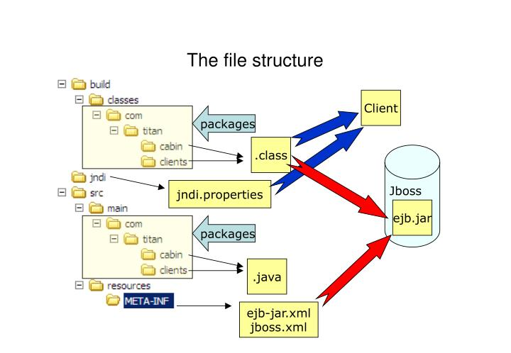 The file structure