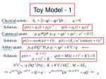 toy model 1