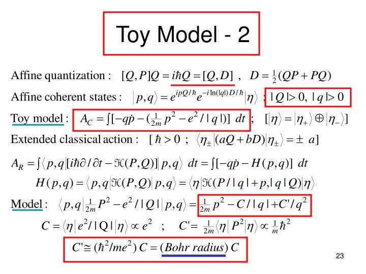 Toy Model - 2