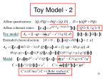 toy model 2