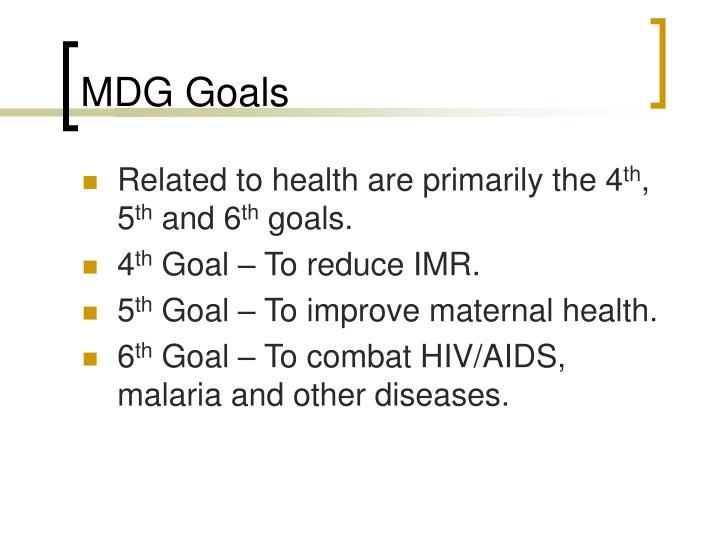 MDG Goals