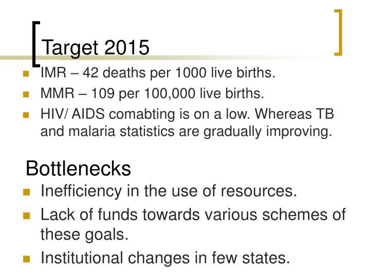 Target 2015