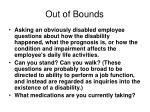 out of bounds1