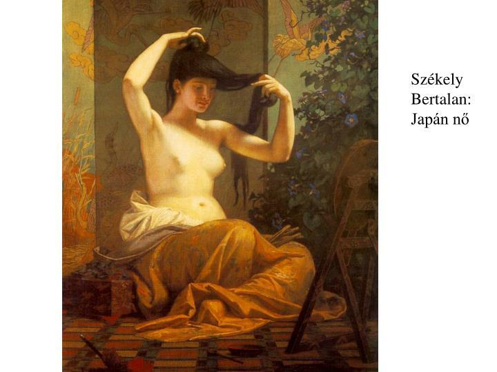 Székely Bertalan: Japán nő