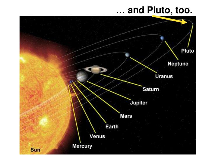 … and Pluto, too.