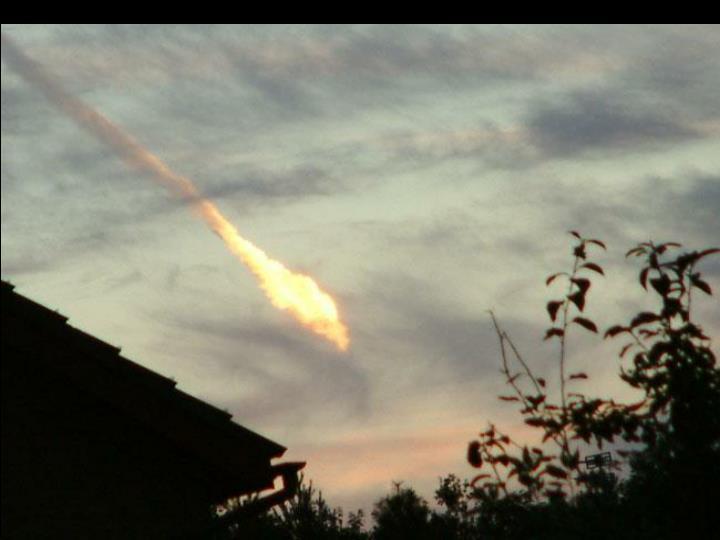 Daylight fireball