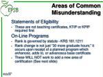 areas of common misunderstanding2