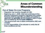 areas of common misunderstanding3