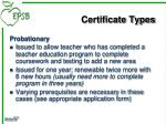 certificate types2