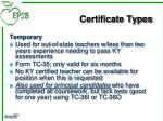 certificate types9