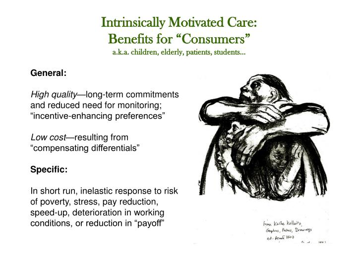 Intrinsically Motivated Care: