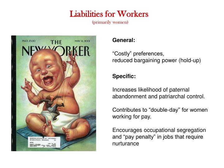 Liabilities for Workers