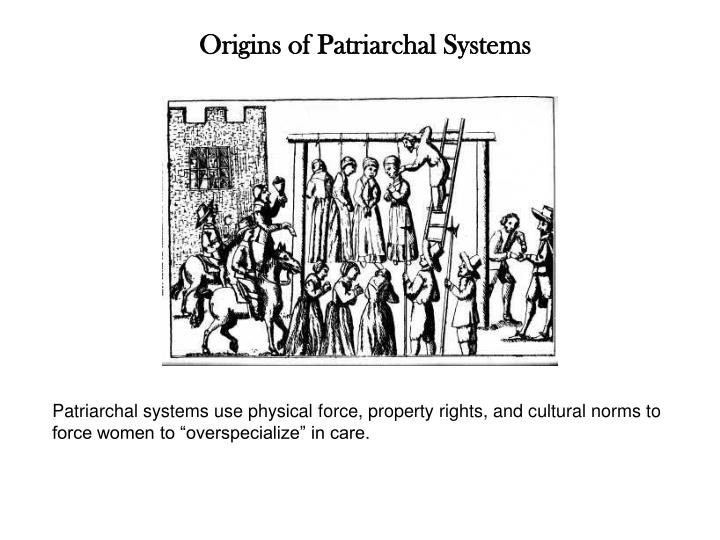 Origins of Patriarchal Systems