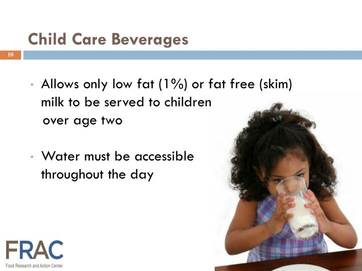 Child Care Beverages