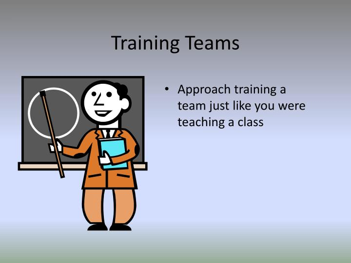 Training Teams