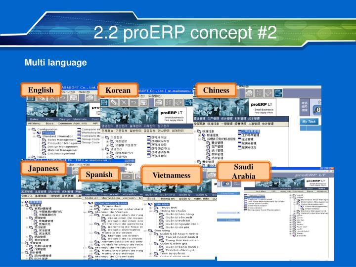 2.2 proERP concept #2