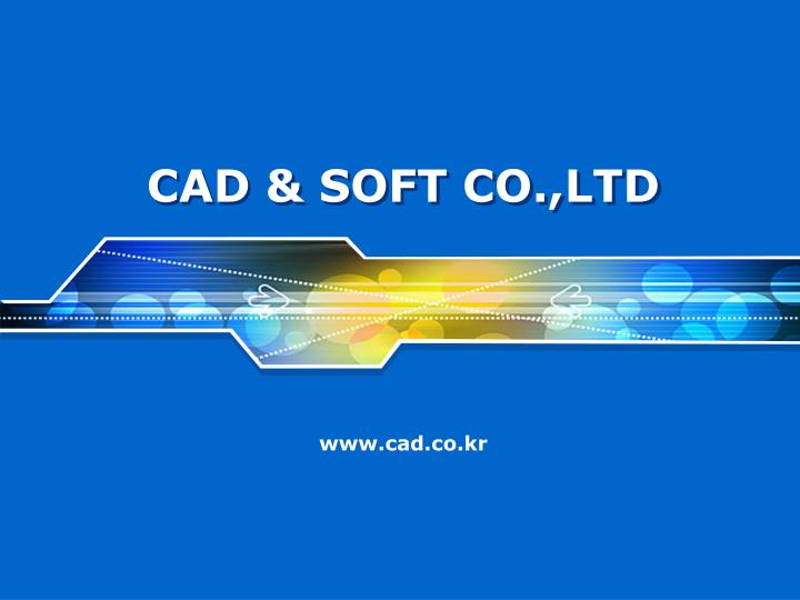 Cad soft co ltd