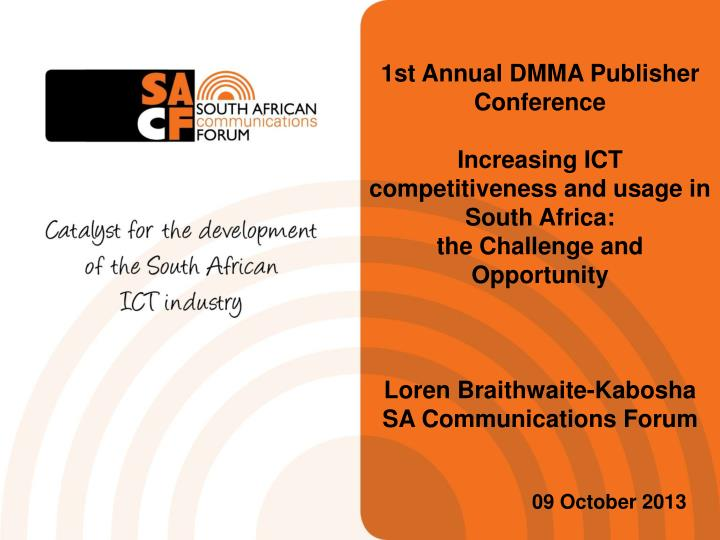 1st Annual DMMA Publisher Conference