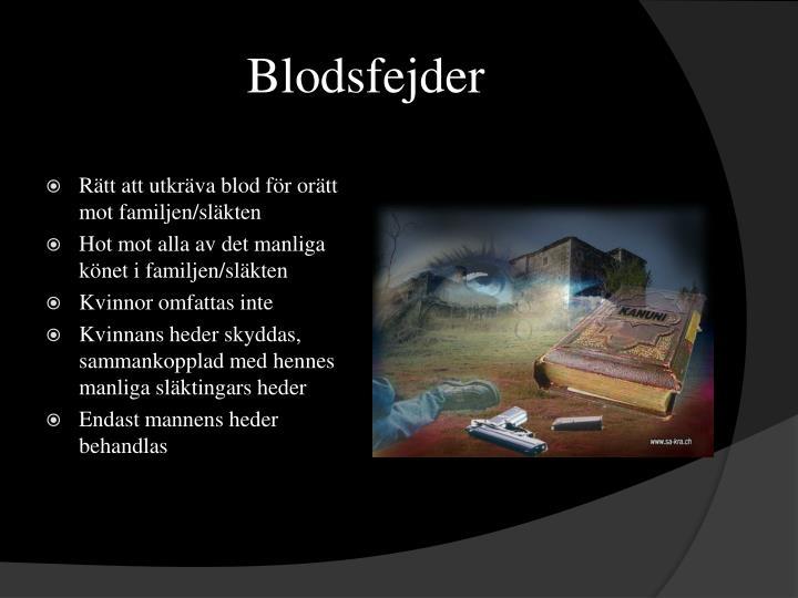 Blodsfejder