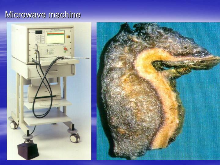 Microwave machine