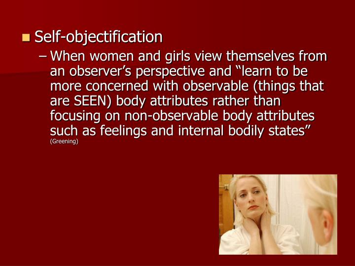 Self-objectification