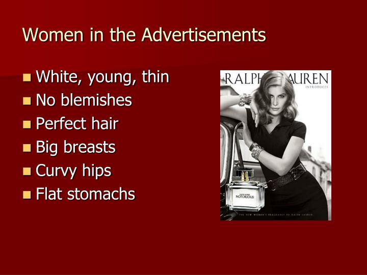 Women in the Advertisements