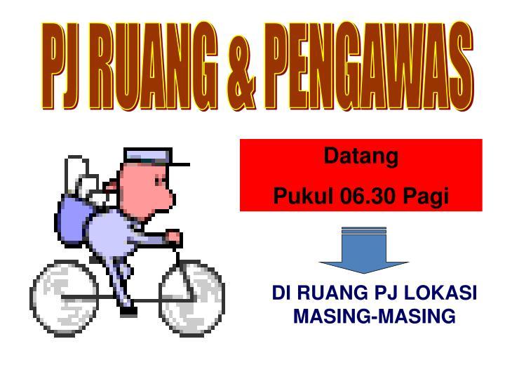 PJ RUANG & PENGAWAS